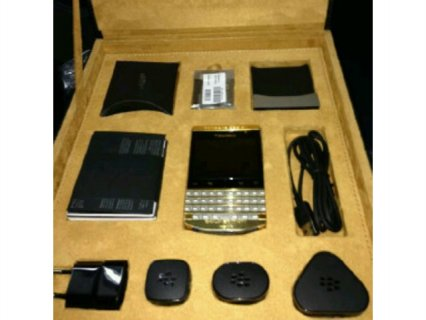 Bb porsche design with Arabic keyboard and Vip pin