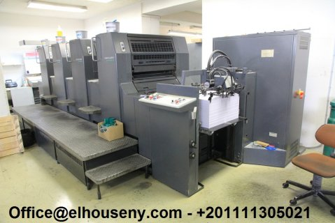 ماكينة Heidelberg SM 74-4 low pile