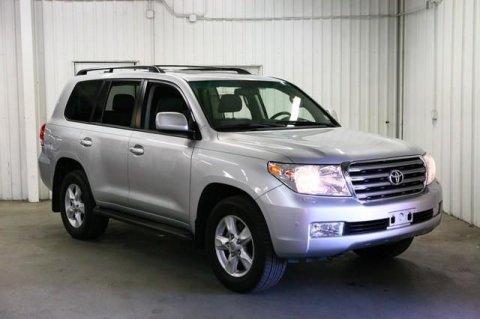 2011 Toyota Land Cruiser Silver color