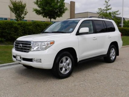 2010 Toyota Land Cruiser Full Options, Accident Fr