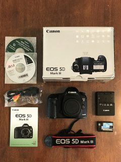 كاميرا كانون EOS 5D مارك الثالث 22.3MP SLR الرقمية