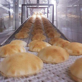 خط انتاج الخبز العربي