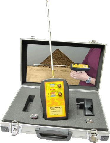 جهاز Tracker x3 بالنظام الاستشعاري لكشف الذهب والف